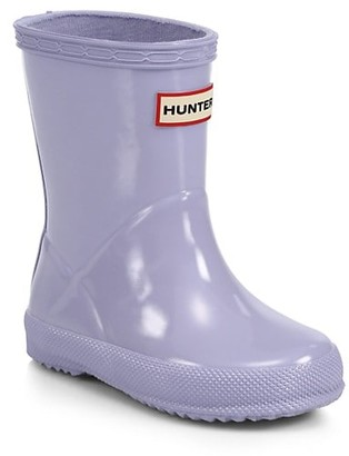 Hunter Baby's, Little Kid's & Kid's Gloss First Classic Rain Boots