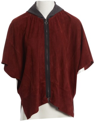 Riani Brown Suede Jacket for Women