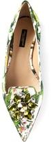 Dolce & Gabbana floral print ballerinas