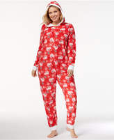 Briefly Stated Plus Size Elf On The Shelf Fleece Jumpsuit