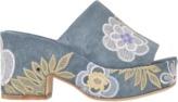 Laurence Dacade Noa embroidered slide