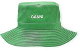 Ganni Moire Bucket Hat