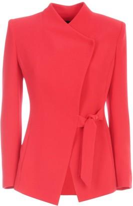 Emporio Armani Jacket Side Latch W/knot