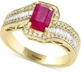 Effy Amoré by Certified Ruby (1 ct. t.w.) & Diamond (1/2 ct. t.w.) Ring in 14k Gold
