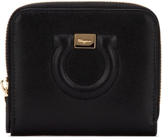 Salvatore Ferragamo Gancio Zip Around Wallet
