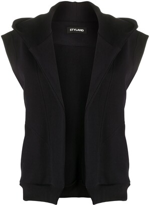 Styland Sleeveless Hooded Jacket