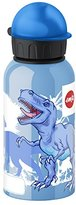 Emsa 514402 Kids drink flask, fruit acid resistant, BPA free, 400 ml, Dinosaur