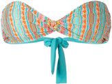 Cecilia Prado crochet strapless bikini top - women - Acrylic/Polyamide/Polyester/Metallic Fibre - S