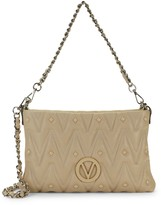 Mario Valentino Vanille D Sauvage Studded & Quilted Crossbody Bag
