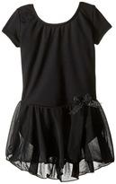 Capezio Short Sleeve Nylon Dress Girl's Dress