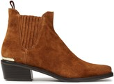 DKNY Michelle Suede Ankle Boots
