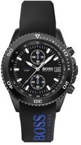 HUGO BOSS - Chronograph Watch With Double Injection Rubber Strap