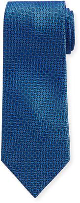 Stefano Ricci Men's Circle-Print Silk Tie