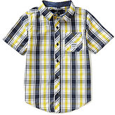 Buffalo David Bitton Big Boys 8-20 Plaid Button-Down Shirt