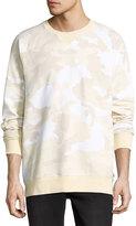 Wesc Marvin Camo-Print Crew-Neck Sweatshirt, Angora