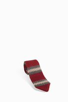 Missoni Knitted Zigzag Stripe tie