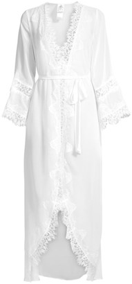 Jonquil Stephanie Chiffon Lace Robe