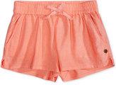 Roxy Linen Shorts, Big Girls (7-16)