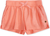 Roxy Tie-Detail Shorts, Toddler & Little Girls (2T-6X)