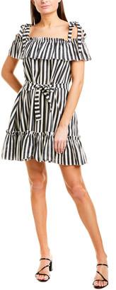 Zimmermann Striped Linen Cover-Up Dress