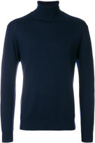 Cruciani fitted roll-neck sweater