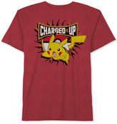 Pokemon Pikachu Graphic-Print T-Shirt, Big Boys