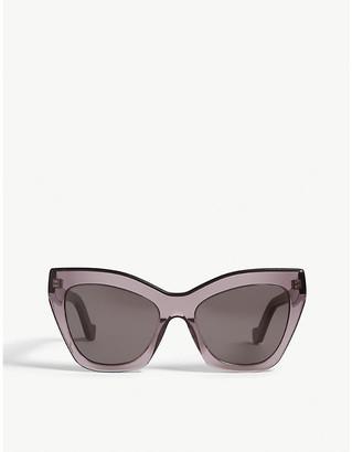 Loewe LW40014U cat-eye-frame sunglasses