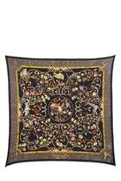 "Hermes Pierres d'Orient et d'Occident"" Silk Accordion Scarf"