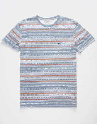 Quiksilver Trash Brats Blue Mens T-Shirt
