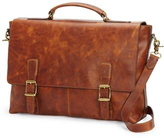 Frye Logan Leather Briefcase