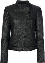 Armani Jeans quilted rose effect jacket