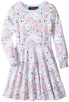 Rock Your Baby Fairy Tale Swans Waisted Dress Girl's Dress