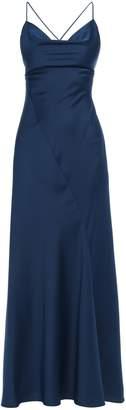 Diane von Furstenberg Open-back Satin-crepe Maxi Slip Dress