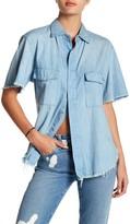 GM STUDIO The Short Sleeve Utility Denim Shirt