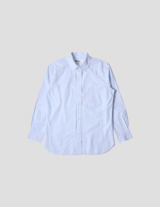 Margaret Howell Pale Blue Shirt - cotton | Small (S) | pale blue - Pale blue