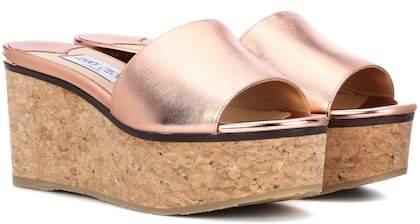 Jimmy Choo Deedee 80 platform sandals