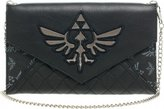 Nintendo Zelda Quilted Envelope Wallet w/ Chain