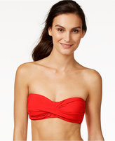 Anne Cole Bandeau Twist Bikini Top