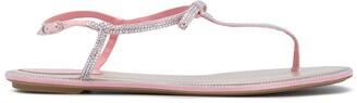Rene Caovilla Embellished Sling-Back Sandals
