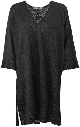 Fisico Cristina Ferrari Black Loose Fit Dress