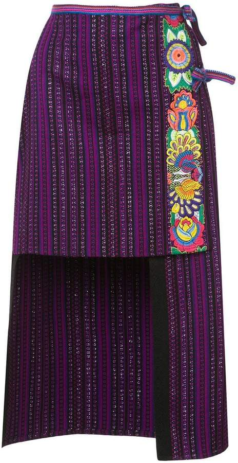 Anna Sui Gathering of the Tribes skirt