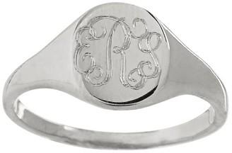 Sarah Chloe Petite Signet Ring