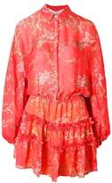 Alexis Loe Dress Blooming Red