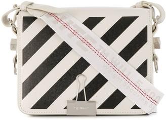 Off-White Diag Binder Clip cross body bag