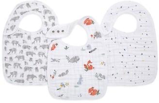 Aden Anais Baby's 3-Pack Naturally Muslin Bibs