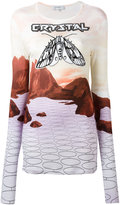 Carven 'Crystal' sweatshirt - women - Viscose - XS