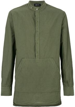 Andrea Ya'aqov longline pouch pocket shirt