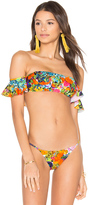 Milly Sirolo Ruffle Bandeau Top