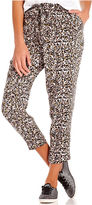 Keds Juniors Pants, Straight Leg Printed Cropped