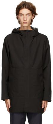 Norse Projects Black Gore-Tex Bergen Coat